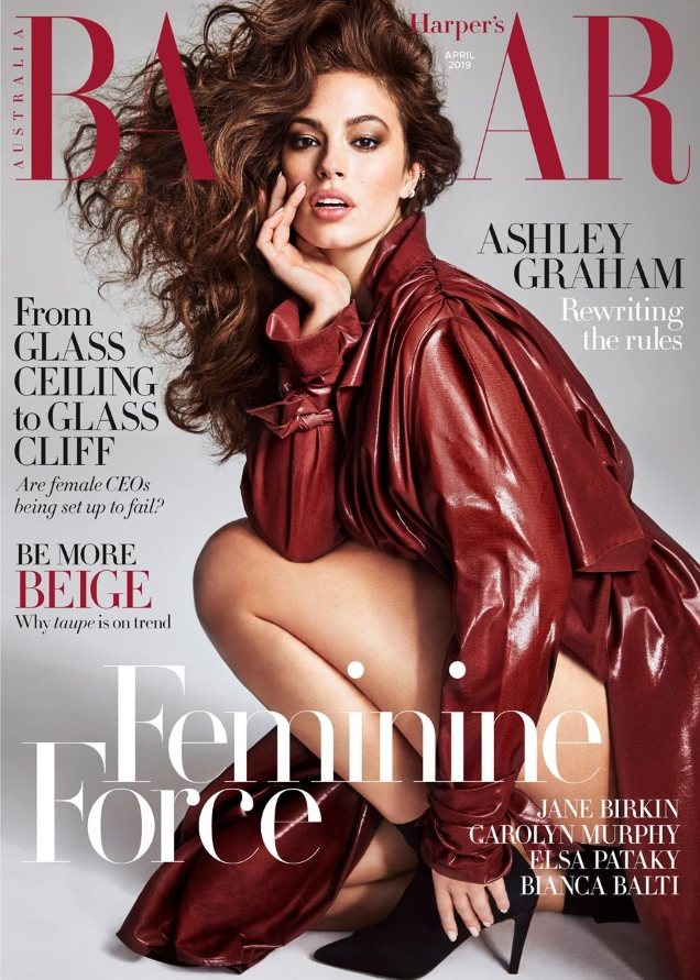 Harper's Bazaar Australia April 2019 : Ashley Graham by Nino Munoz