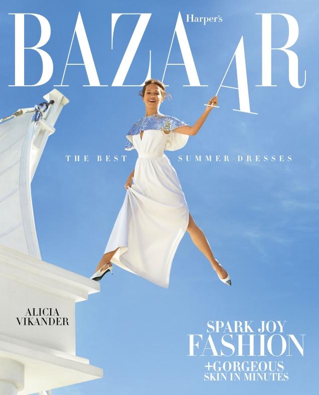 US Harper's Bazaar April 2019 : Alicia Vikander by Mariano Vivanco
