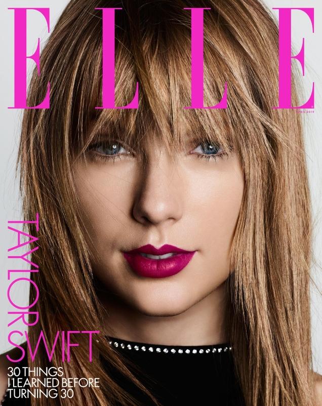 US Elle April 2019 : Taylor Swift by Ben Hassett