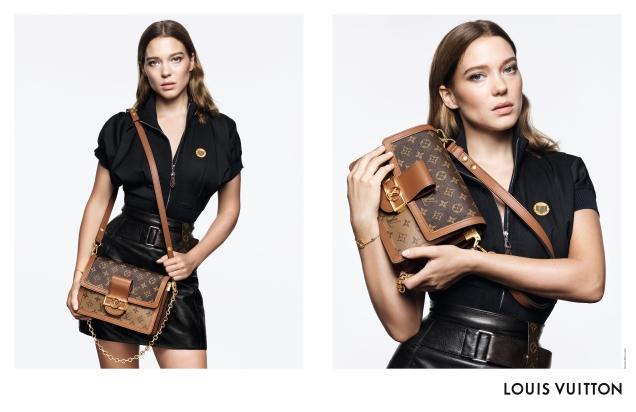 Louis Vuitton Handbags 2019 : Emma Stone, Léa Seydoux & Alicia Vikander by Craig McDean