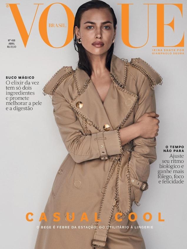 Vogue Brazil April 2019 : Irina Shayk by Giampaolo Sgura