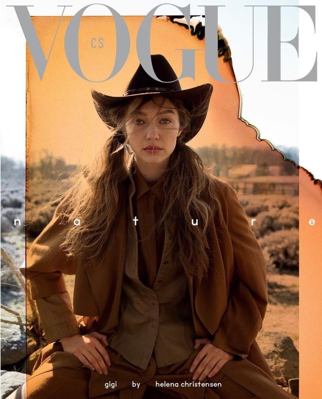 Vogue Czechoslovakia May 2019 : Gigi Hadid by Helena Christensen