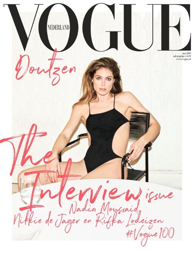 Vogue Netherlands May 2019 : Doutzen Kroes by Daniel Jackson