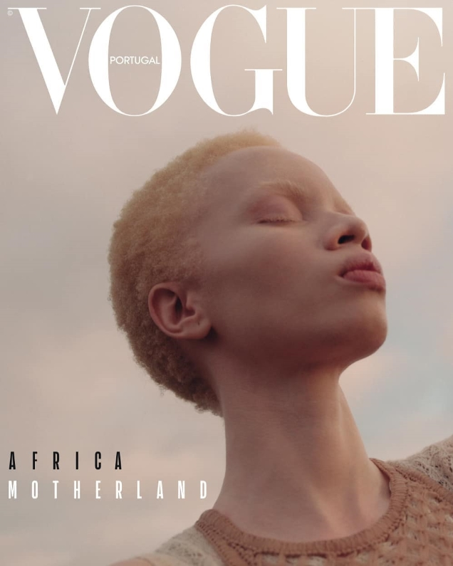 Vogue Portugal April 2019 : Alek Wek by Hugo Comte & Thado Hompa by Rhys Frampton