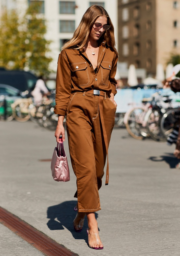 Utilitarian dressing done the street style way.