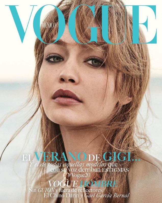 Vogue Mexico June 2019 : Gigi Hadid by Giampaolo Sgura