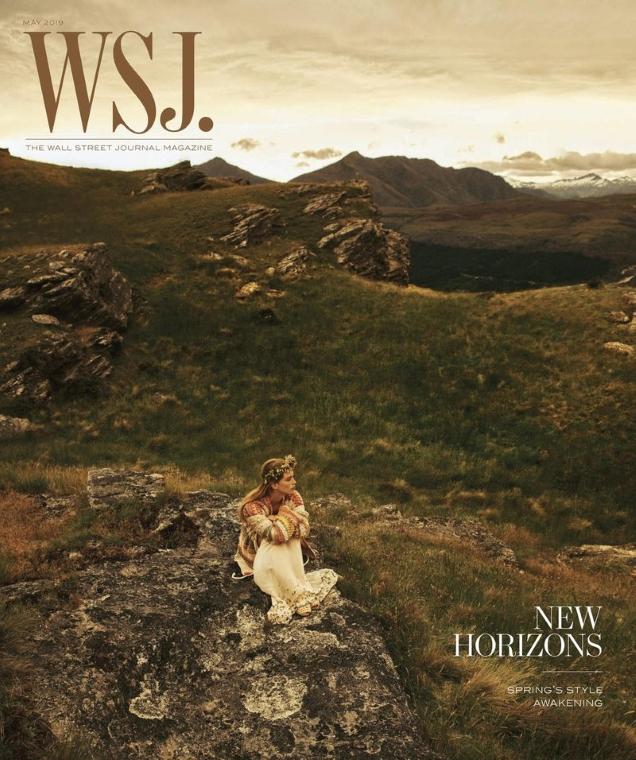 WSJ Magazine May 2019 : Rebecca Leigh Longendyke by Lachlan Bailey