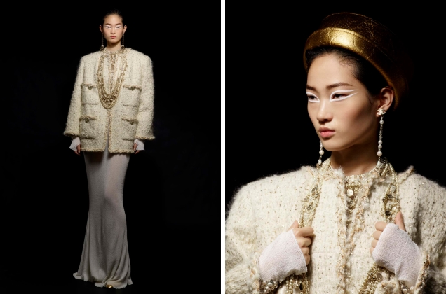 Chanel Pre-Fall 2019 : Hyun Ji Shin & Vittoria Ceretti by Karl Lagerfeld
