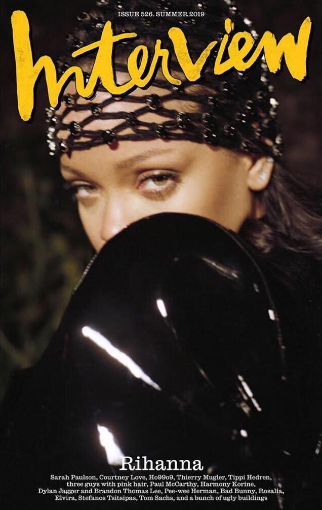 Interview Summer 2019 : Rihanna by Pierre-Ange Carlotti