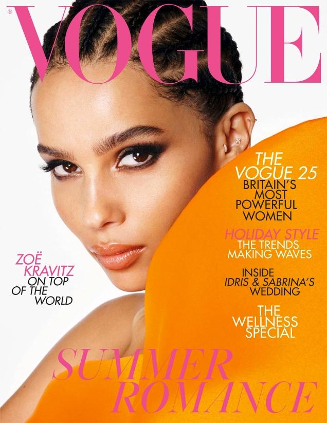 UK Vogue July 2019 : Zoe Kravitz by Steven Meisel