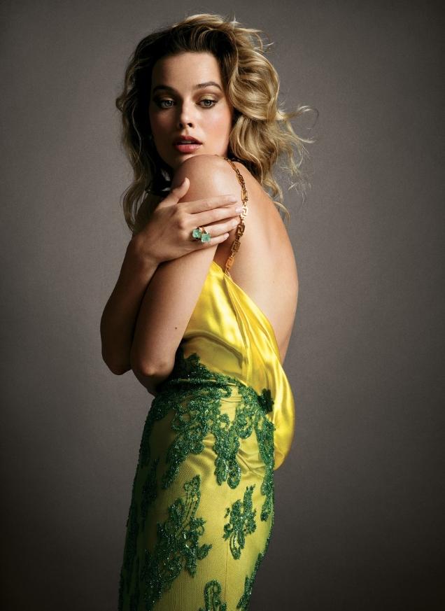 US Vogue July 2019 : Margot Robbie by Inez van Lamsweerde & Vinoodh Matadin