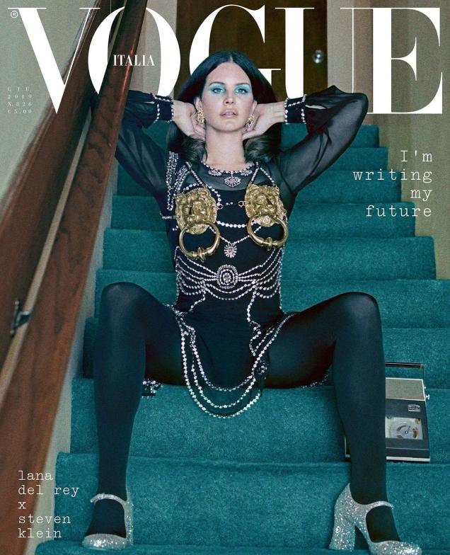 Vogue Italia June 2019 : Lana Del Rey by Steven Klein