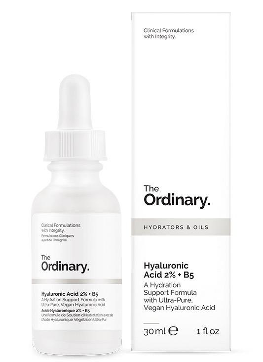 The Ordinary hyaluronic acid formula.