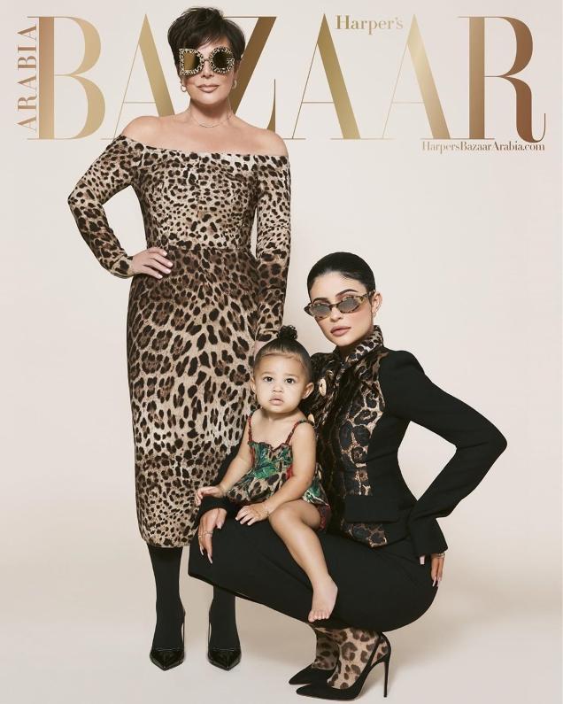 Harper's Bazaar Arabia July/August 2019 : Kris Jenner & Kylie Jenner by The Morelli Brothers