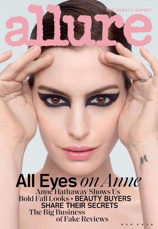 Allure September 2019 : Anne Hathaway by Solve Sundsbo