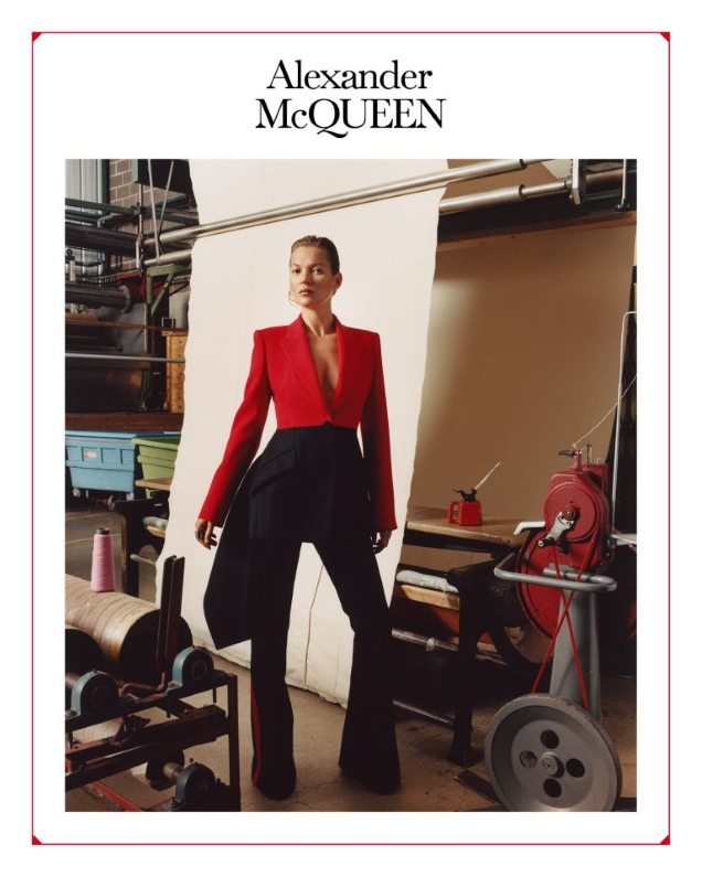 Alexander McQueen F/W 2019.20 : Kate Moss by Jamie Hawkesworth