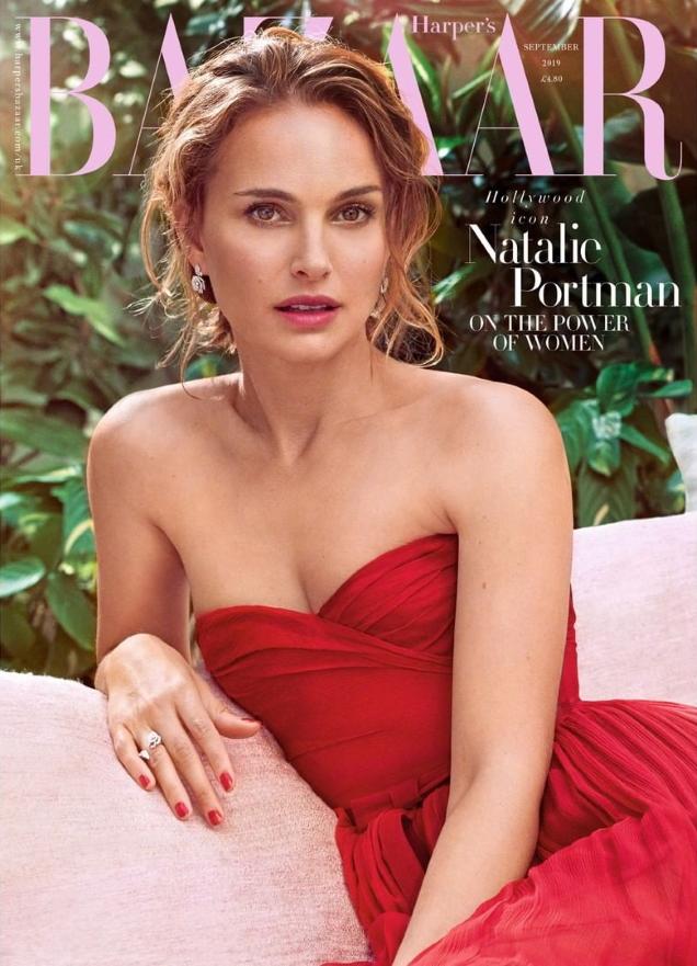 UK Harper's Bazaar September 2019 : Natalie Portman by Pamela Hanson