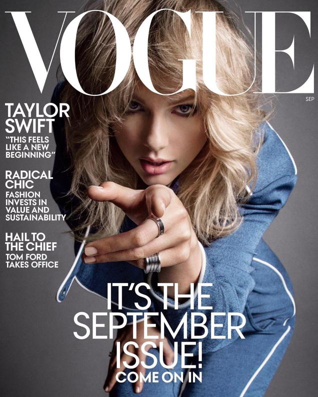 US Vogue September 2019 : Taylor Swift by Inez van Lamsweerde & Vinoodh Matadin