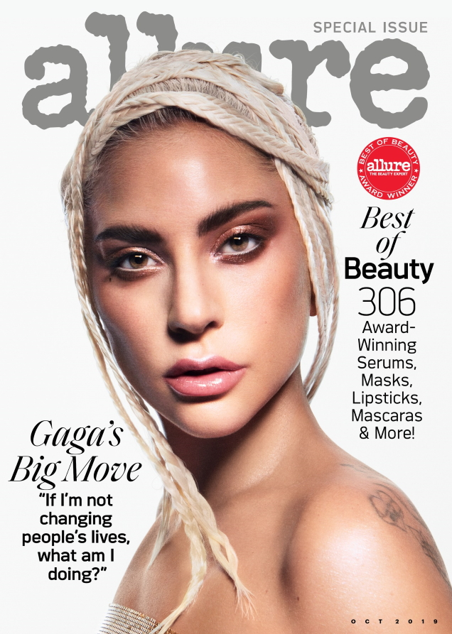 Allure October 2019 : Lady Gaga by Daniel Jackson