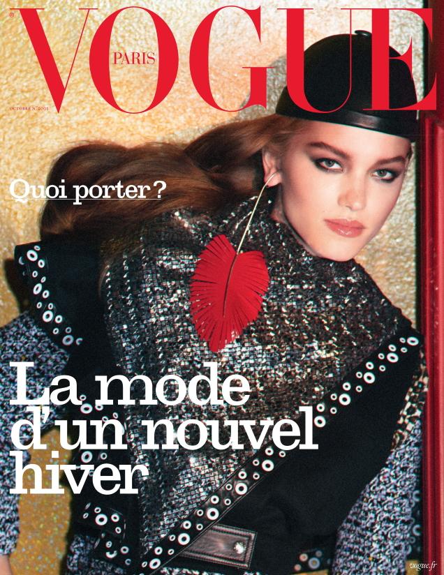 Vogue Paris October 2019 : Laurijn Bijnen by David Sims