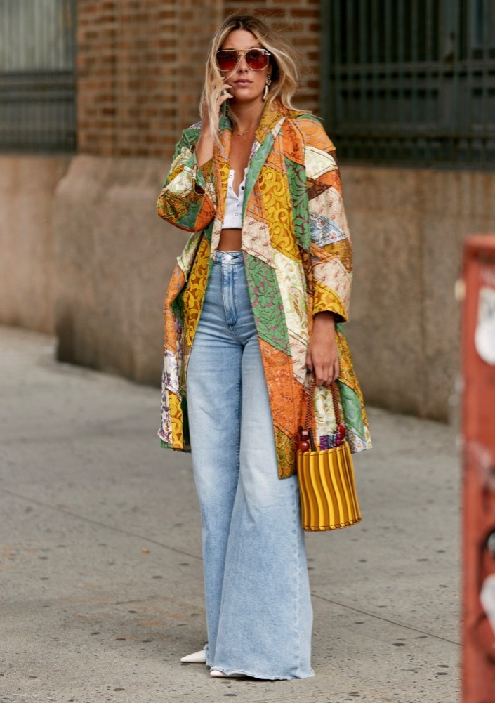 Patchwork Spring 2020 Street Style