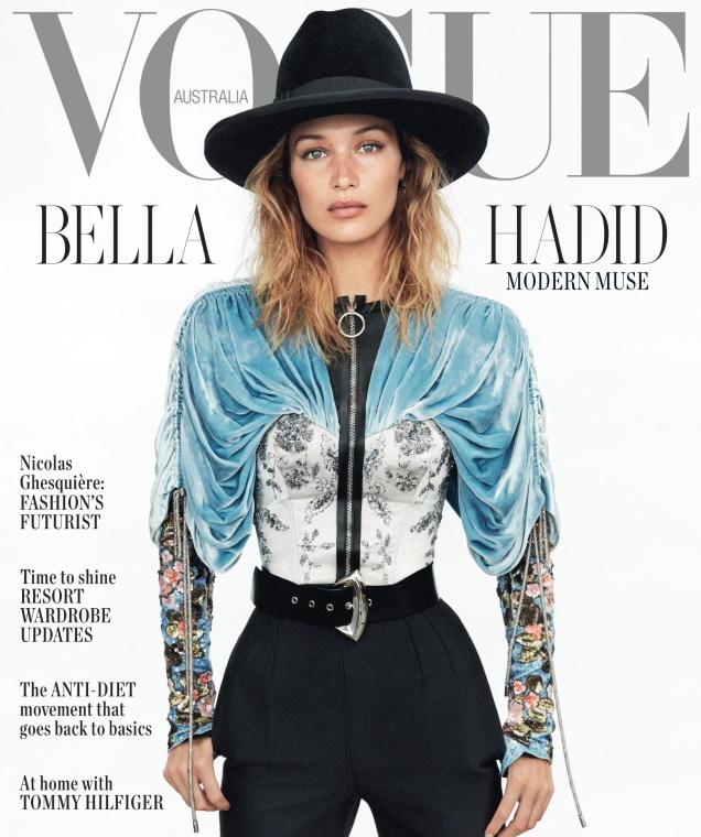Vogue Australia November 2019 : Bella Hadid by Daniel Jackson