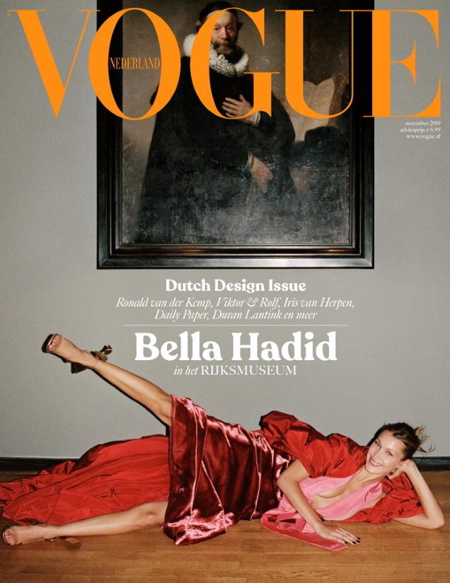 Vogue Netherlands November 2019 : Bella Hadid by Sean Thomas