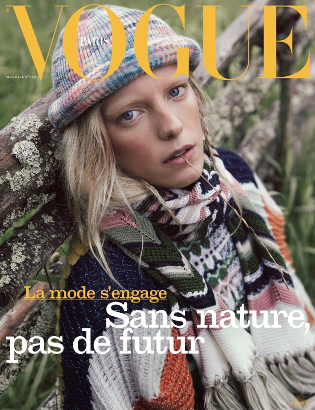 Vogue Paris November 2019 : Erika Linder by Mikael Jansson