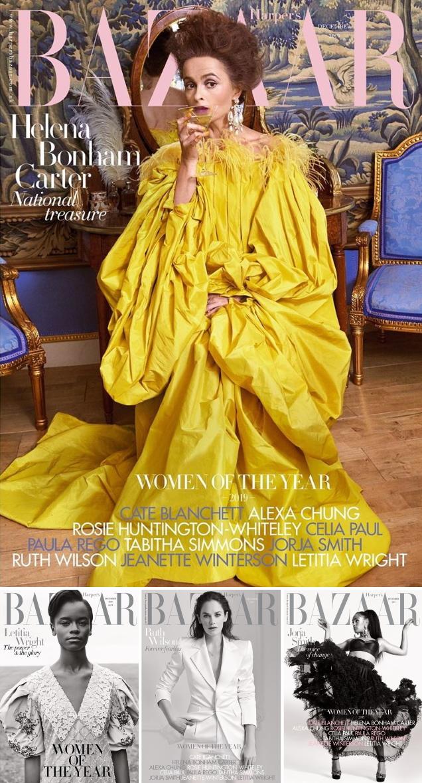 UK Harper's Bazaar December 2019 : The 'Women of the Year' Issue