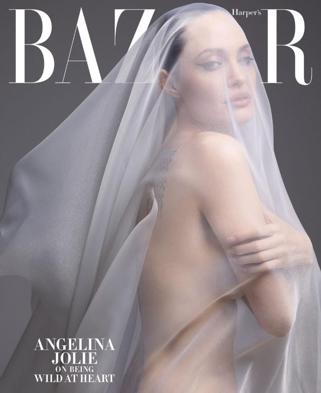 US Harper's Bazaar December 2019/January 2020 : Angelina Jolie by Solve Sundsbo