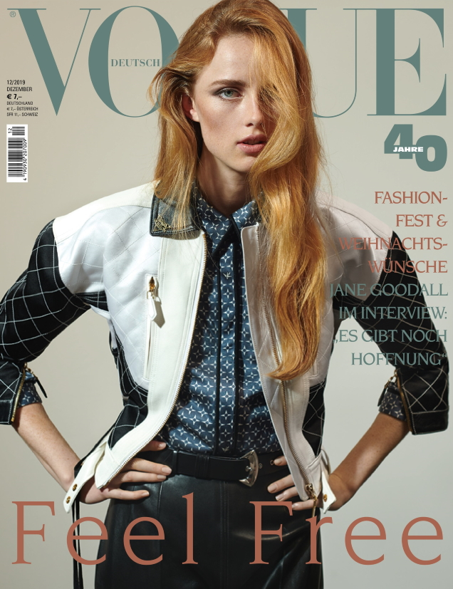 Vogue Germany December 2019 : Rianne van Rompaey by Collier Schorr