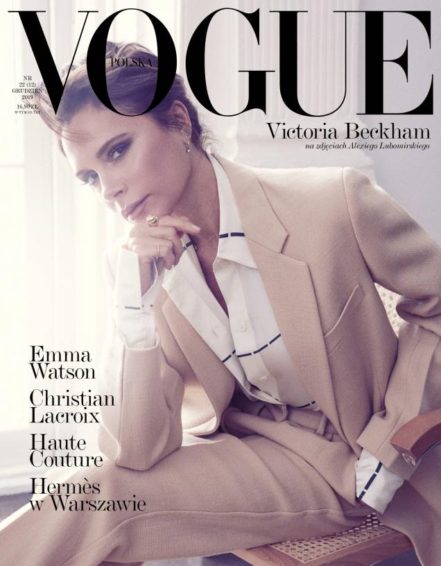 Vogue Poland December 2019 : Victoria Beckham by Alexi Lubomirski
