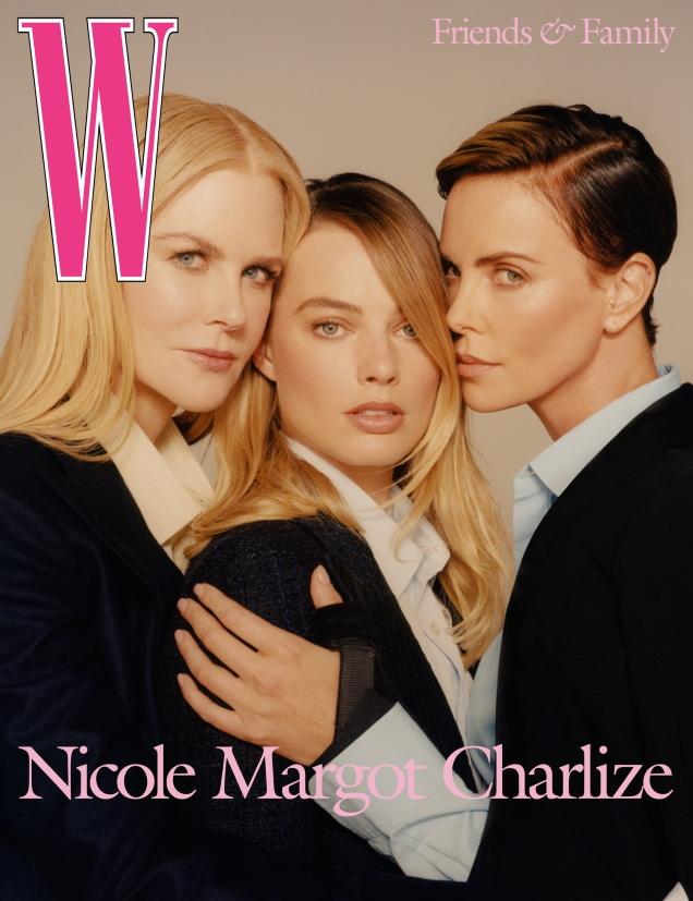 W Magazine Volume #8 2019 : Nicole Kidman, Margot Robbie & Charlize Theron by Colin Dodgson