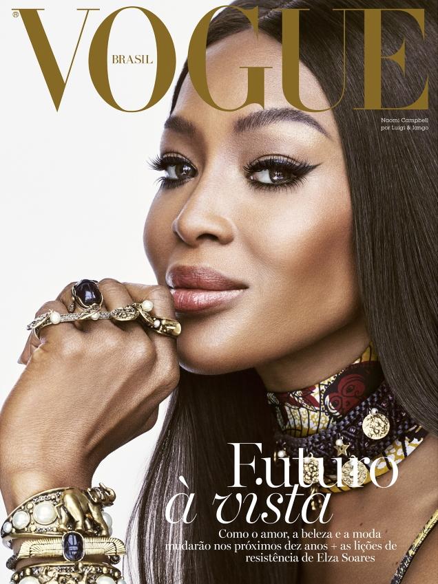 Vogue Brazil December 2019 : Naomi Campbell by Luigi & Iango