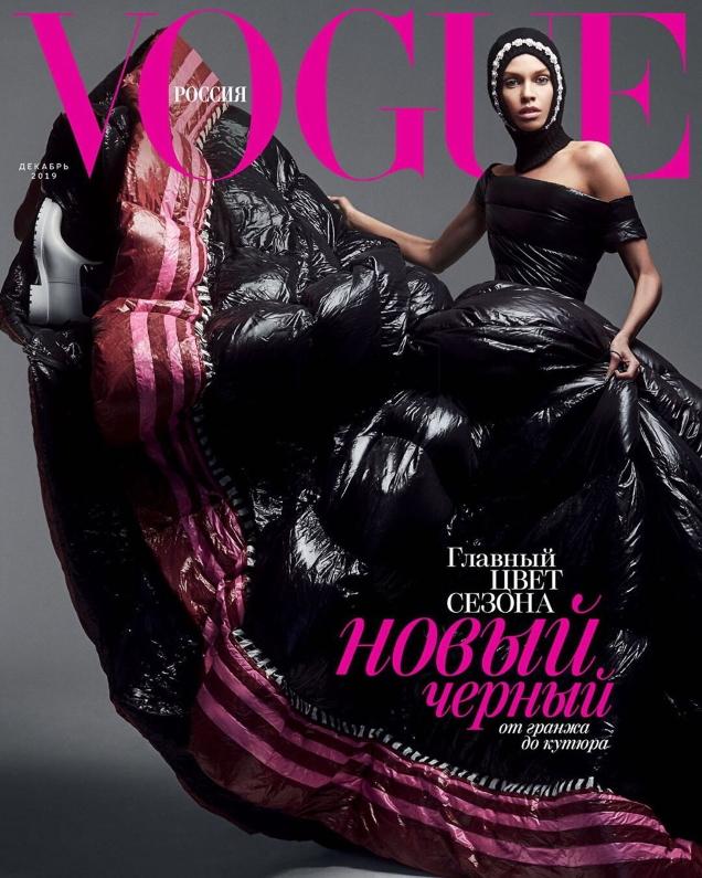 Vogue Russia December 2019 : Irina Shayk & Stella Maxwell by Zoey Grossman