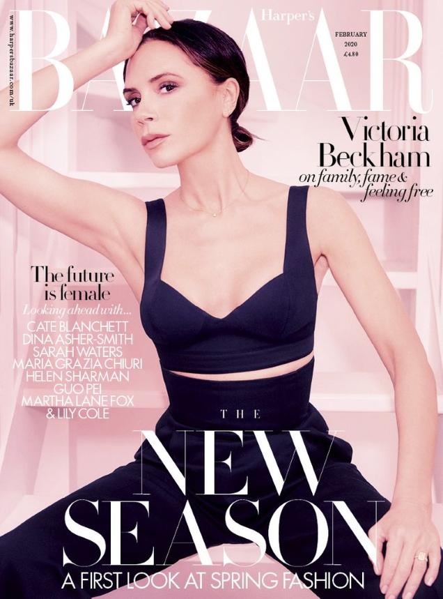 UK Harper's Bazaar February 2020 : Victoria Beckham by Ellen Von Unwerth