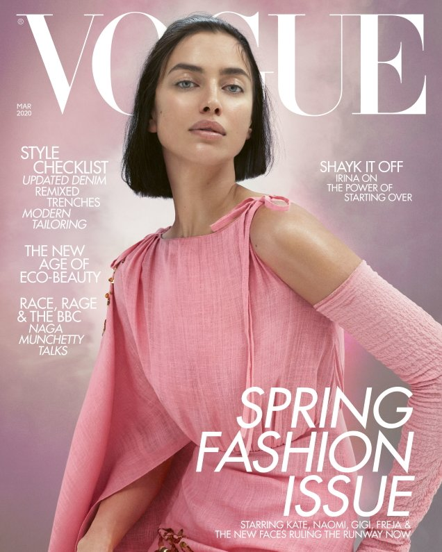 UK Vogue March 2020 : Irina Shayk by Mert Alas & Marcus Piggott