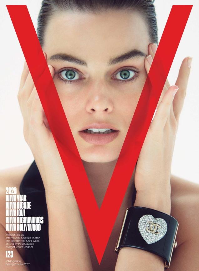 V Magazine #123 Spring Preview 2020 : Margot Robbie by Chris Colls