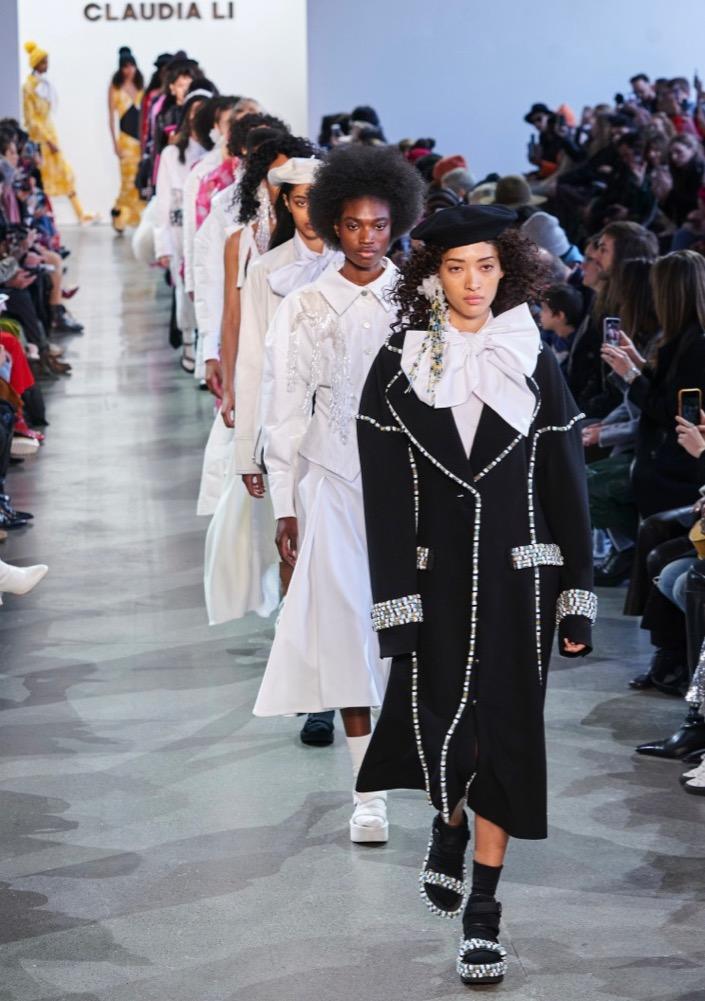 Claudia Li New York Fashion Week Fall 2020