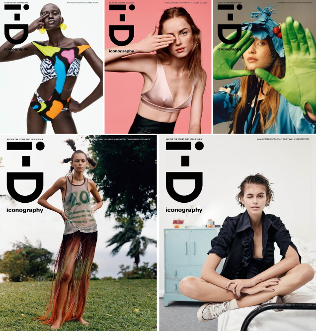 i-D Spring 2020 : The 'Icons and Idols' Issue