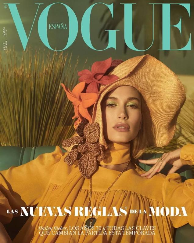 Vogue España March 2020 : Hailey Bieber by Emma Summerton