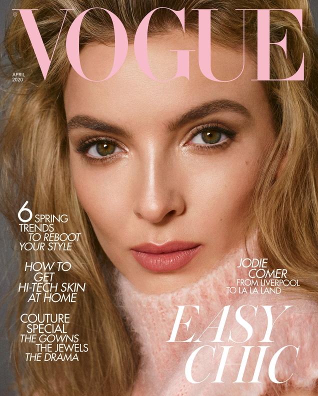 UK Vogue April 2020 : Jodie Comer by Steven Meisel