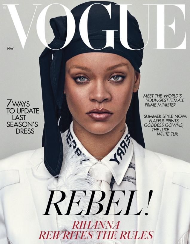UK Vogue May 2020 : Rihanna by Steven Klein