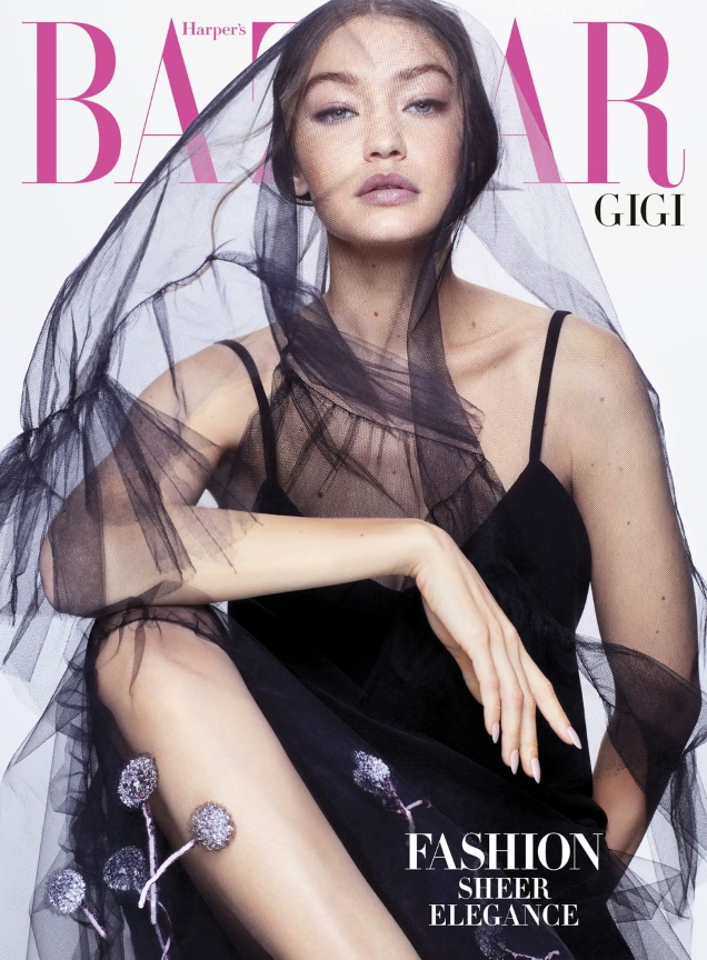 US Harper's Bazaar April 2020 : Gigi Hadid by Sølve Sunsbø