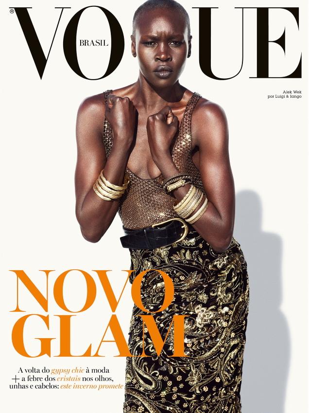 Vogue Brazil March 2020 : Alek Wek by Luigi & Iango
