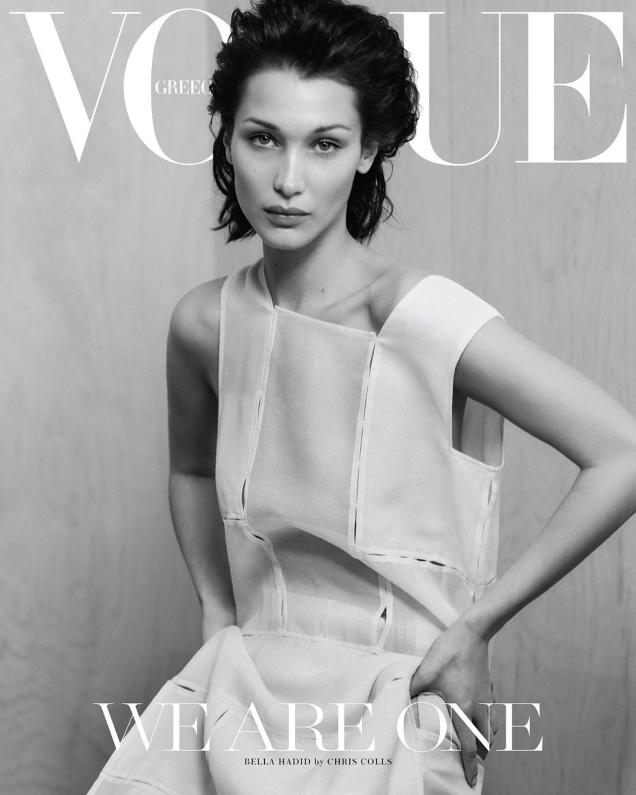 Vogue Greece April 2020 : Bella Hadid by Chris Colls