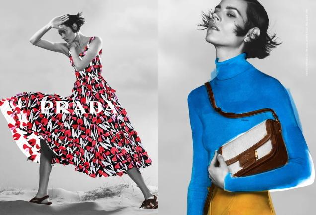 Prada Pre-Fall 2020 : Freja Beha Erichsen by David Sims