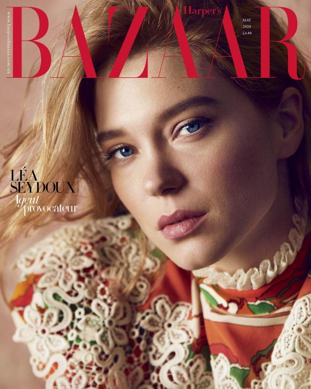 UK Harper's Bazaar May 2020 : Léa Seydoux by Alexi Lubomirski