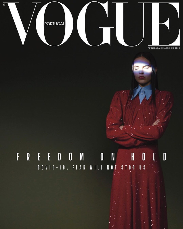 Vogue Portugal April 2020 by Branislav Simoncik & Renée Parkhurst