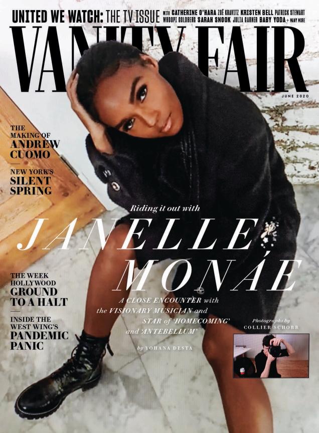 Vanity Fair June 2020 : Janelle Monáe by Collier Schorr